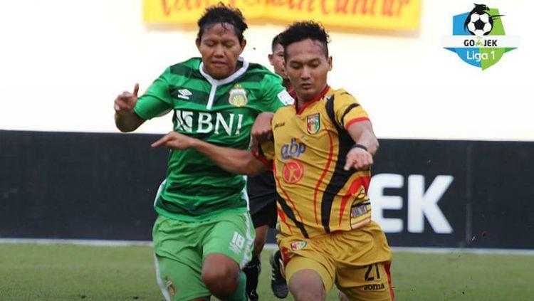 Mitra Kukar vs Bhayangkara FC Copyright: © Liga 1