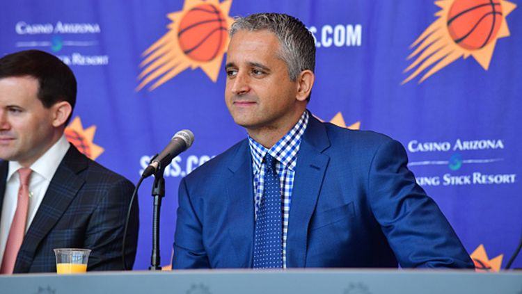 Igor Kokoskov, pelatih Phoenix Suns. Copyright: © Getty Images