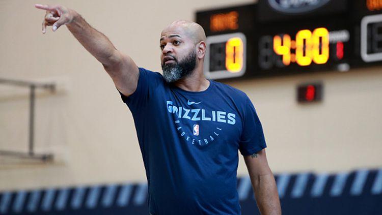 J.B. Bickerstaff, mantan caretaker Memphis Grizzlies. Copyright: © Getty Images