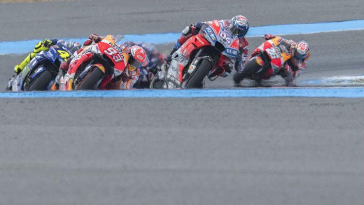 Ilustrasi balapan MotoGP. Copyright: © INDOSPORT