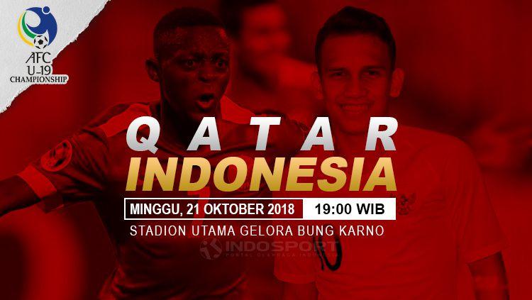 Jadwal dan Siaran Langsung Qatar vs Timnas Indonesia U19  INDOSPORT