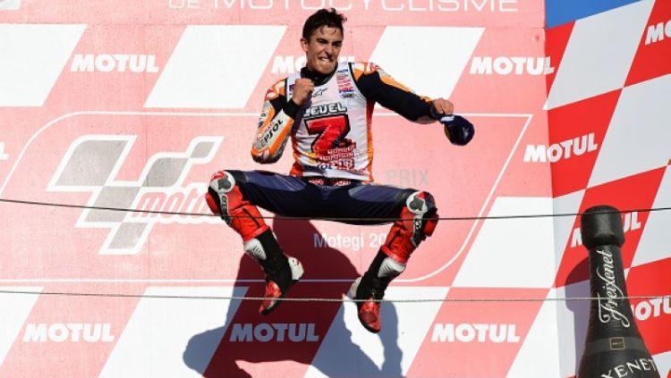Marc Marquez juara MotoGP 2018. Copyright: © Getty Images
