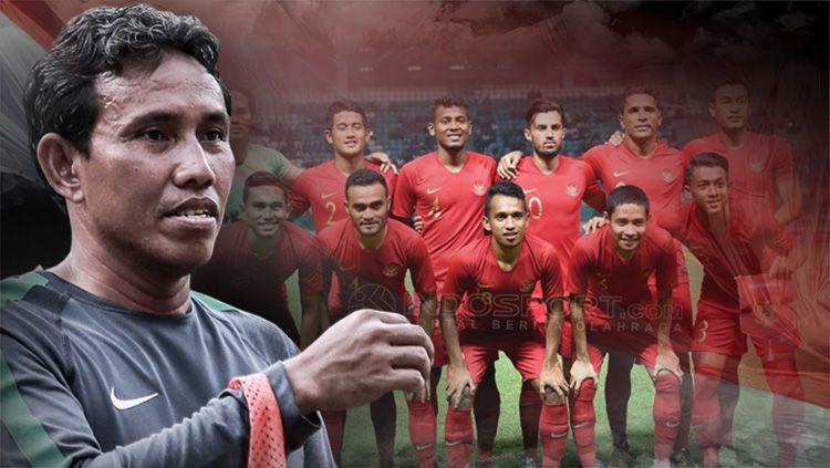 Bima Sakti resmi melatih Timnas Indonesia. Copyright: © Indosport.com