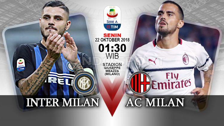 Inter Milan vs AC Milan (Prediksi) Copyright: © Indosport.com