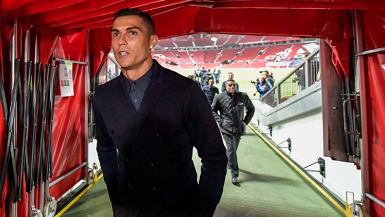 Cristiano Ronaldo berpotensi gagal lagi pulang ke Manchester United pada bursa transfer lanjutan. Sudah mau tumbalkan Paul Pogba, mereka dikecewakan Juventus. Copyright: © Getty Images