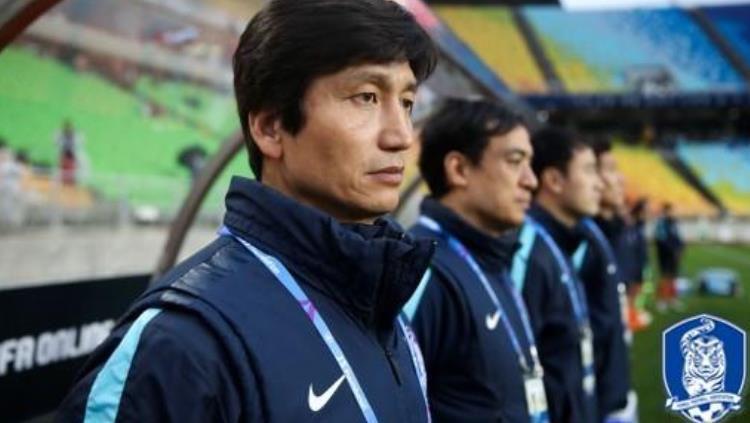 Asosiasi Sepak Bola Korea Selatan ajukan komplain ke penyelenggara AFC U-19 karena salah putar lagu kebangsaan. Copyright: © KFA