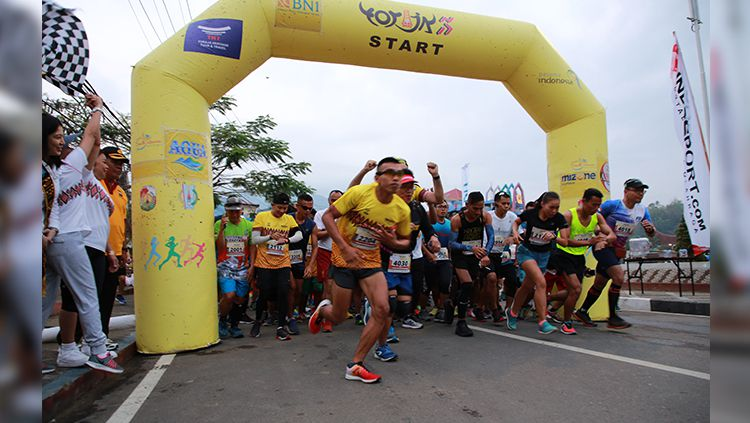 Toraja Marathon Run. Copyright: © Toraja Marathon Run