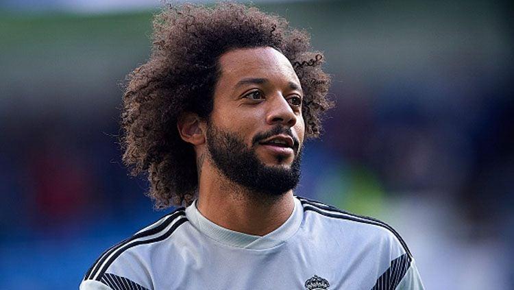 Marcelo memberi nasihat untuk dua juniornya yang bermain di LaLiga Spanyol bersama Real Madrid. Copyright: © Getty Images