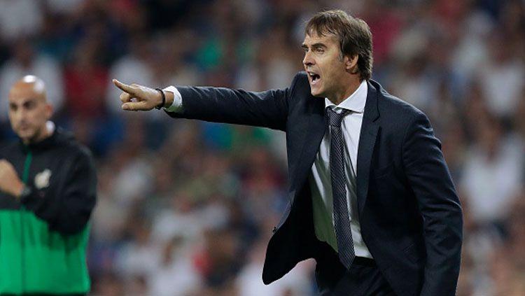 Julen Lopetegui, mantan pelatih Real Madrid yang baru saja ditunjuk mengasuh Sevilla. Copyright: © Getty Images