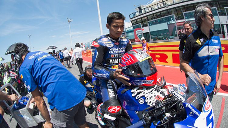 Yamaha Racing Indonesia, Galang Hendra Pratama. Copyright: © Getty Images