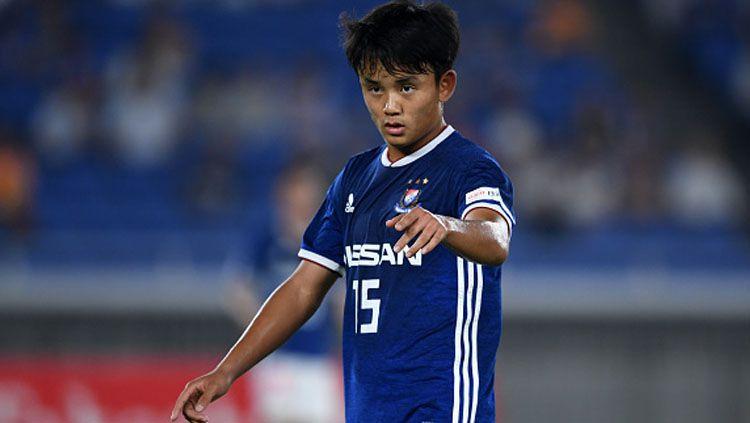 Takefusa Kubo, bintang Timnas Jepang U-19. Copyright: © Getty Images