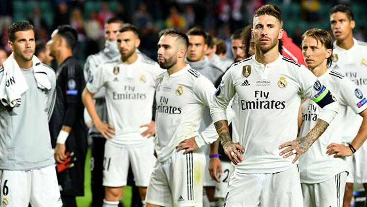 Para pemain Real Madrid di musim 2018/19. Copyright: © Getty Images