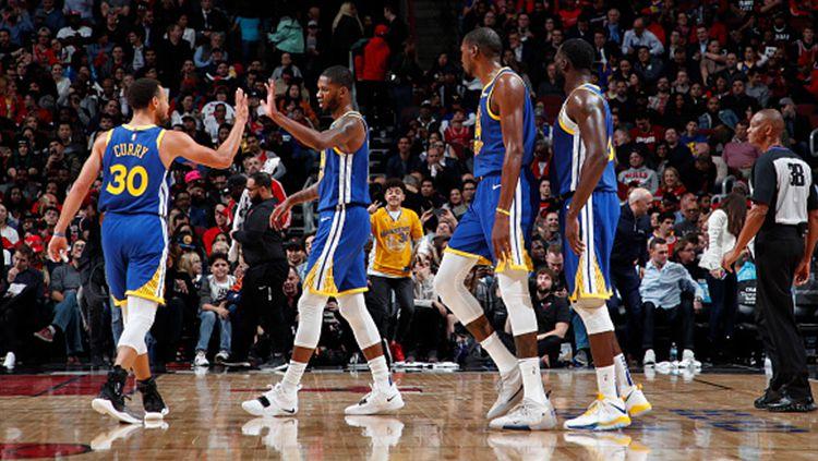 Golden State Warriors, gagal menjadi juara NBA 2019 Copyright: © Getty Images