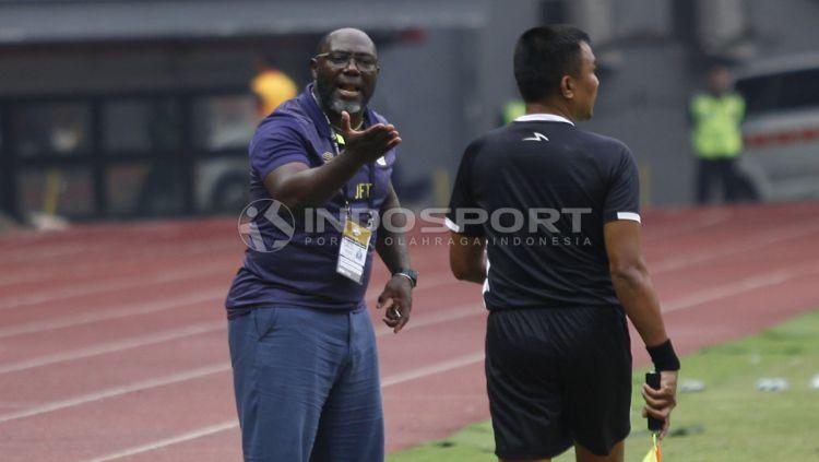 Barito Putera menelan kekalahan 1-2 dari tim tamu Kalteng Putra pada pekan ke-5 Shopee Liga 1 2019, Senin (22/06/19), di Stadion 17 Mei, Banjarmasin. Copyright: © Herry Ibrahim/INDOSPORT