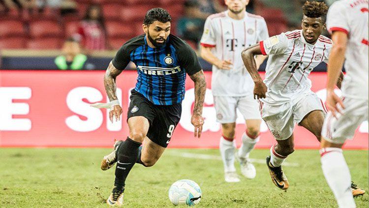 Gabriel Barbosa bisa dijual dengan harga mahal menyusul penampilan apiknya di Liga Brasil. Copyright: © INDOSPORT