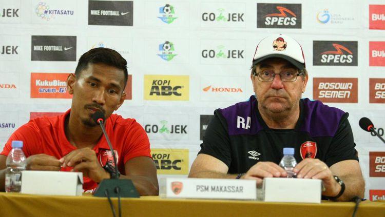 PSM Makassar dalam jumpa pers Copyright: © PSM Makassar