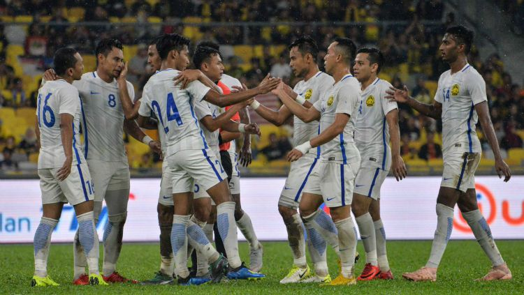 Timnas Malaysia Menaklukan Maladewa Jelang Piala AFF 2018 Copyright: © Twitter