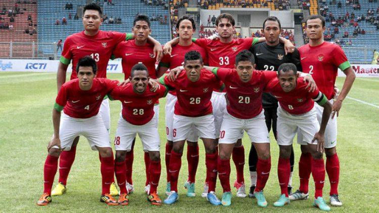 Skuat Timnas Indonesia di Piala AFF 2012. Copyright: © Fernando Randy/VIVA News