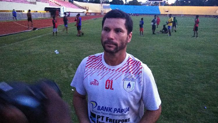 Pelatih Persipura Jayapura, Oswaldo Lessa Copyright: © Sudjarwo/INDOSPORT