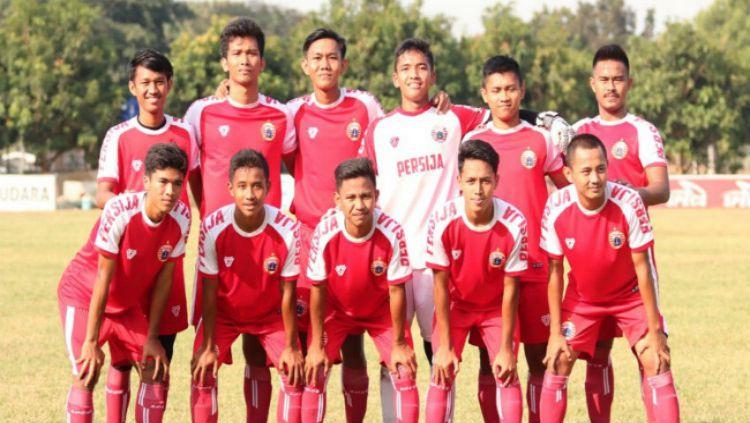 Skuat Persija-U-19 termasuk ada Adhe Owen. Copyright: © persija.id