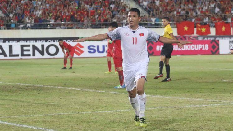 Selebrasi Pemain Timnas Vietnam dalam Piala AFF 2108 Copyright: © Twitter