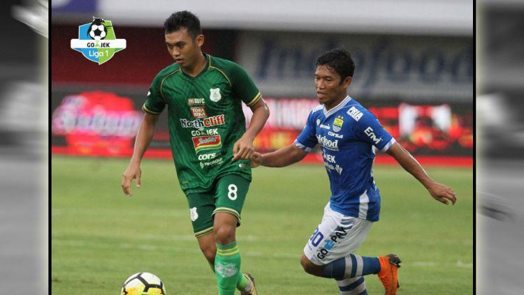 Persib Bandung vs PSMS Medan Copyright: © Twitter@Liga1Match
