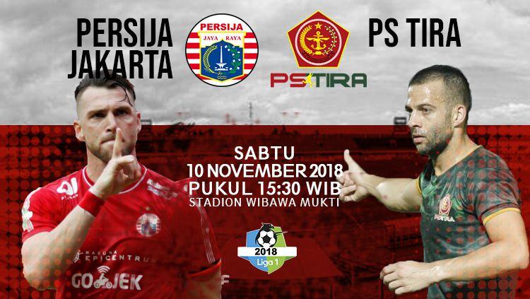 Prediksi pertandingan Persija Jakarta vs PS TIRA Copyright: © INDOSPORT
