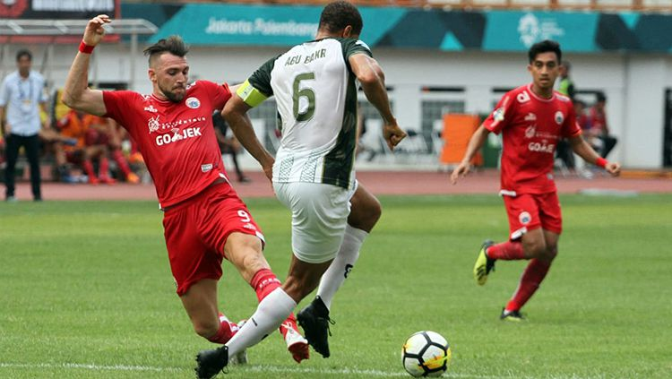 Indosport - Persija Jakarta vs PS Tira