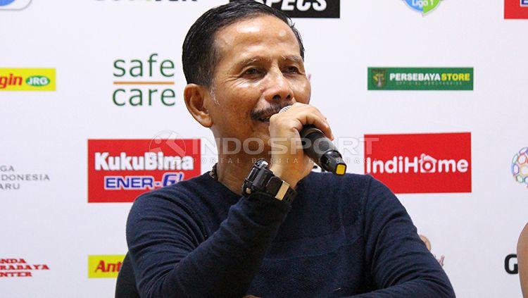 Djajang Nurdjaman, pelatih Persebaya Surabaya. Copyright: © Fitra Herdian/INDOSPORT