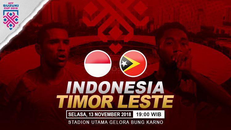 Prediksi pertandingan Indonesia vs Timor Leste. Copyright: © INDOSPORT