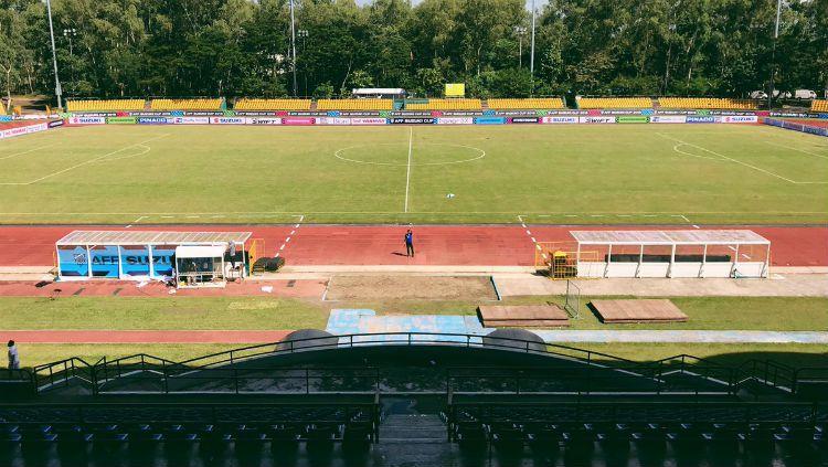 Stadion Panaad Par, kandang Filipina di Piala AFF 2018. Copyright: © Istimewa