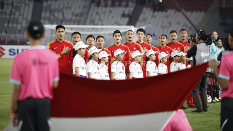Skuat Timnas Indonesia. Copyright: © Herry Ibrahim/Indosport.com