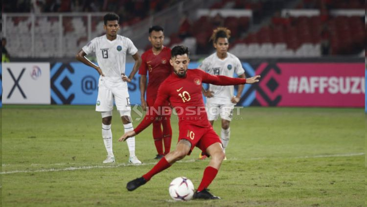 Indonesia vs Timor Leste Copyright: © Herry Ibrahim/Indosport.com