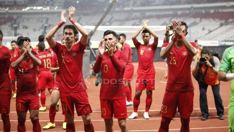 Timnas Indonesia vs Timor Leste Copyright: © Herry Ibrahim/Indosport.com