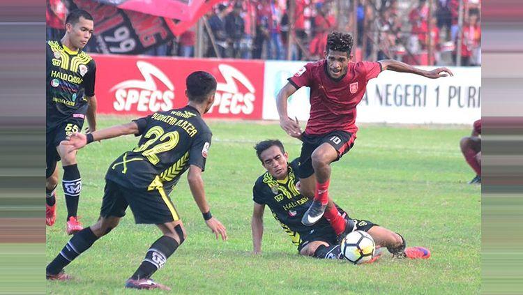 PSMP vs Semen Padang Copyright: © Instagram/semenpadangfcid