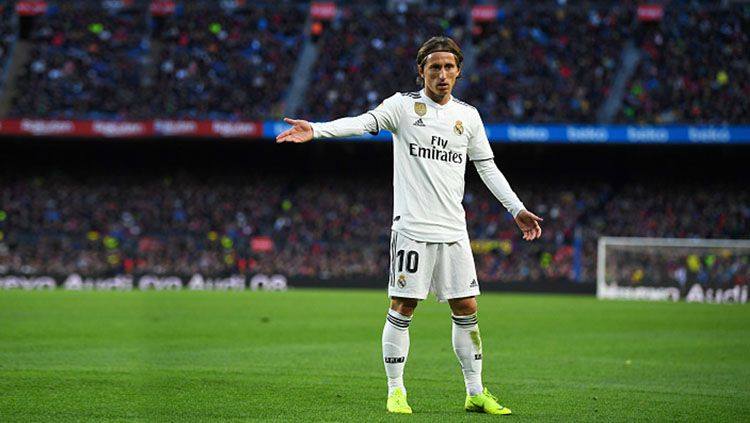 Luka Modric, playmaker Real Madrid. Copyright: © INDOSPORT