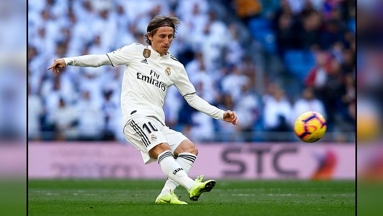 Luka Modric, playmaker Real Madrid. Copyright: © Getty Images