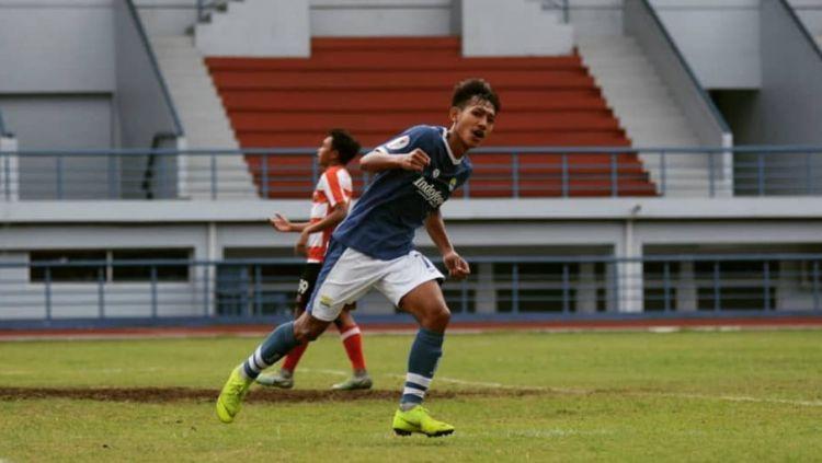 Pemain Persib Bandung U-19 Beckham Putra Nugraha. Copyright: © Instagram/@beckhamputran