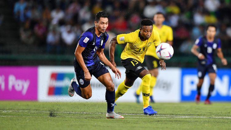 Timnas Kamboja berhasil menyingkirkan Malaysia di SEA Games 2019. Copyright: © Fox Sport