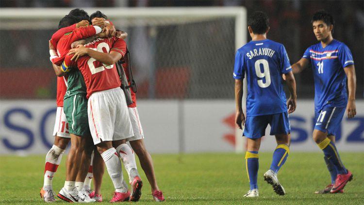 Pertandingan Klasik Piala AFF Indonesia vs Thailand Piala AFF 2010 Copyright: © fourfourtwo