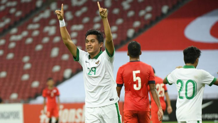 Septian David Maulana, bintang Timnas Indonesia. Copyright: © Getty Images