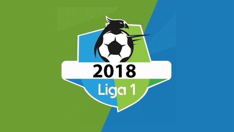 Logo Liga 1 2018. Copyright: © Istimewa