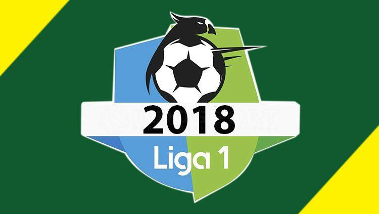 Logo Liga 1 2018. Copyright: © INDOSPORT.COM