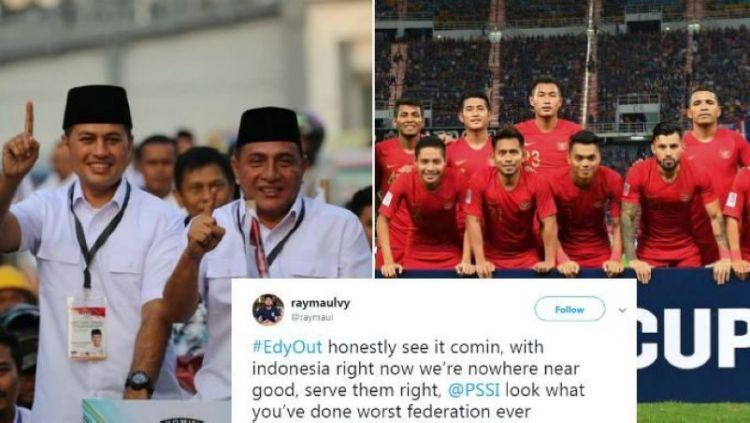 Edy Rahmayadi dan polemik dalam sepak bola Indonesia Copyright: © Fox Sports Asia