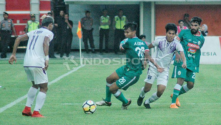 PSS Sleman saat tampil di 8 besar Liga 2 2018. Copyright: © Prima/INDOSPORT