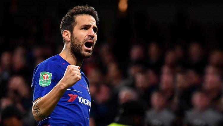 Cesc Fabregas, saat masih memperkuat Chelsea. Copyright: © Getty Images
