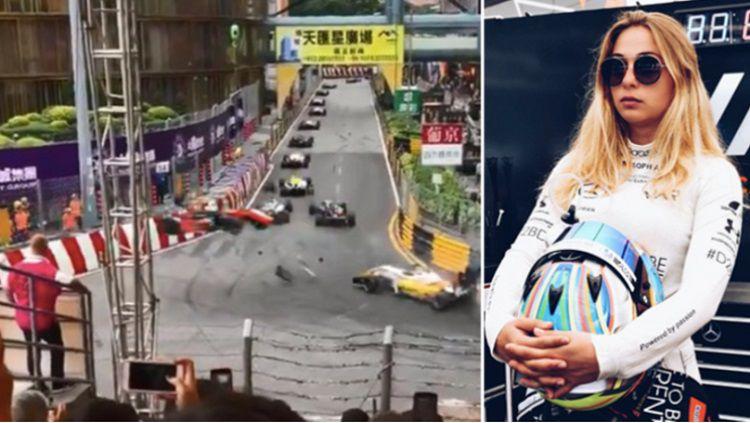 GP F3 Macau diwarnai tragedi kecelakaan horor. Copyright: © Sport Bible