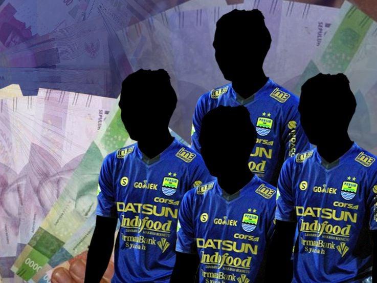 Beredar di Media Sosial, Benarkah 4 Pemain Persib Bandung Terlibat Pengaturan Skor?