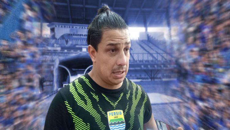 Asisten Pelatih Persib, Fernando Soler Copyright: © INDOSPORT