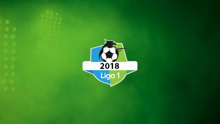 Logo Liga 1 2018. Copyright: © liga-indonesia.id